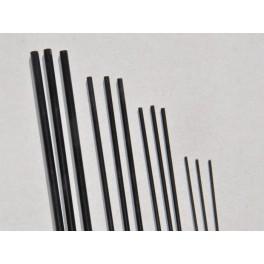 laminátová tyč 1mm černá