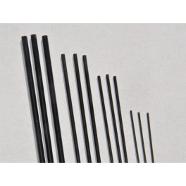laminátová tyč 2 mm černá